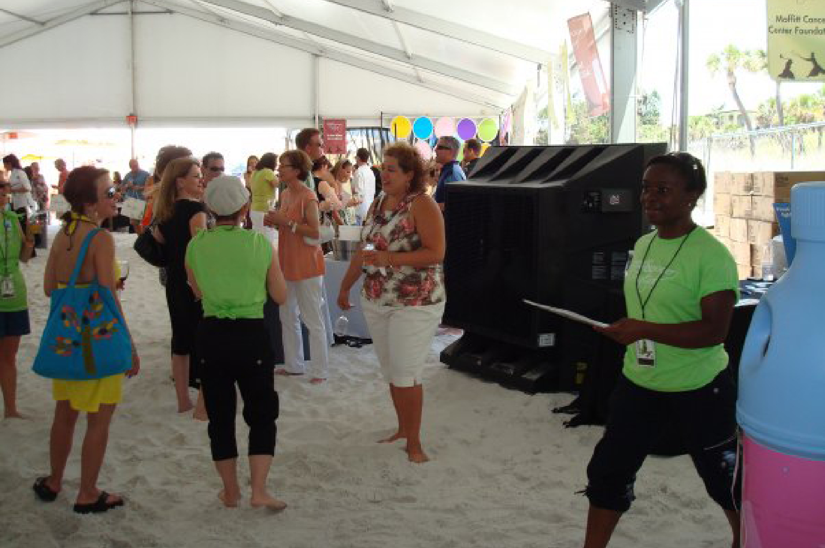 Port A Cool 36 Tent Event koeling