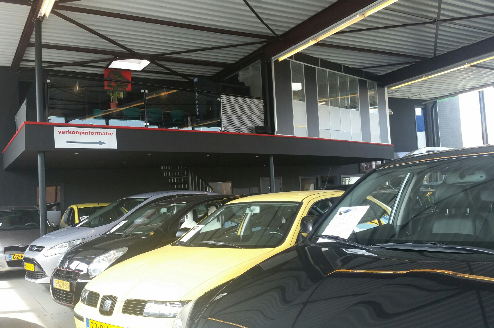 Port A Cool koeling autogarage showroom